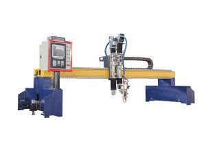 Oxygen acetylene cutting torch flame track cutter machine gantry auto price cnc plasma cutter mini